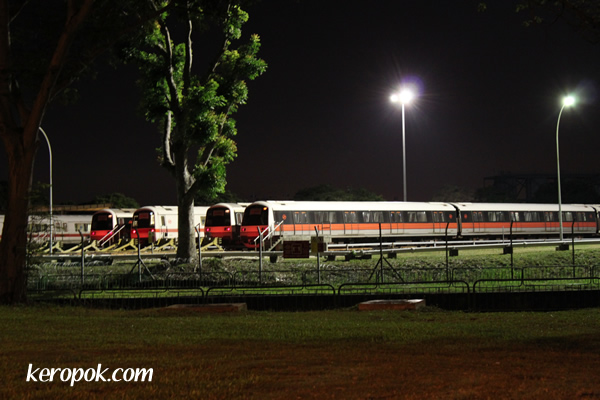 MRT depot