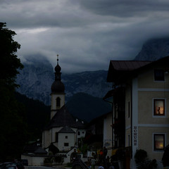 Anna it's time to close the curtains in Ramsau (Bn) Tags: fairytale germany bayern bavaria cozy topf50 curtains drape topf100 schuhe darkclouds ambiance rainynight bavarianalps supershot 100faves 50faves silentnight whenthenightfalls muchphotographed annatheodora eveningfalls stsebastiankirche ramsaubeiberchtesgaden closethecurtains closetheblinds ramsauparishchurch berchtesgadennationalparkinbayern goddessofcurtains thefamouschurchinramsau reiteralpemountains 6thcenturypfarrkirch lightabsorption melancholicatmosphere