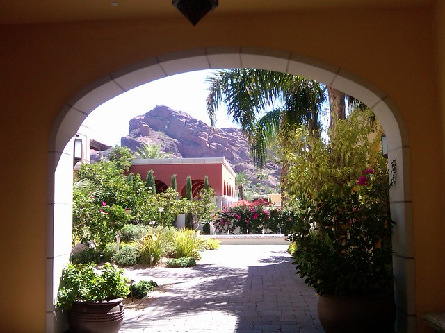 View of Camelback Mountain from Google Zeitgeist in Arizona