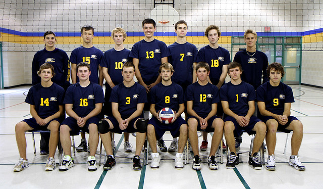 Senior Boys Volleyball 2010/11 Team Picture