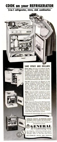 Cook on Your Refrigerator Life Mar 9 1953