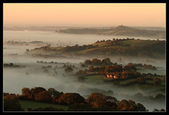 Morning Glory (RattyBoots) Tags: morning mist sunrise canon early dad glastonbury wells somerset 7d gorge tor 100400l ebbor