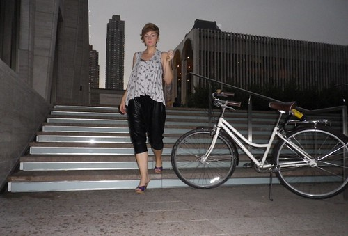 Bike Outfit Pics - Lincoln Center MFBW