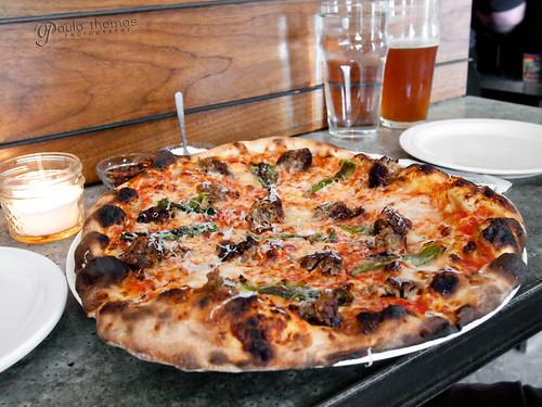 Delancey's Padron Sausage Pizza