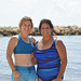 Debbie O'Connel & Nancy Lopez in the Hacienda Tres Rios beach