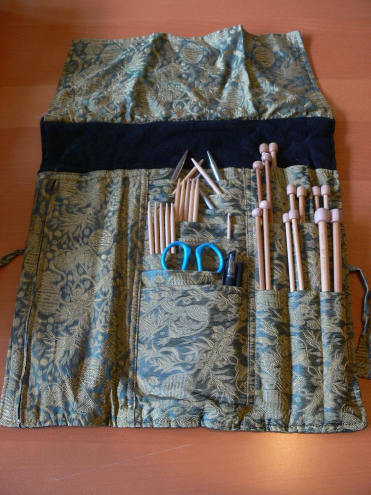 Jenny: Knitting Needle Case