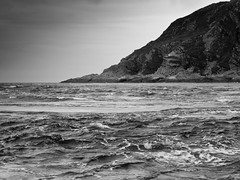 Cauldron of the Speckled Seas (SK51) Tags: uk blackandwhite bw art scotland europe argyll events halflife lightroom nva canon400d gulfofcorryvreckan