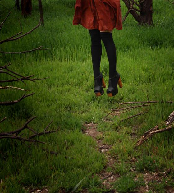 orange heel g