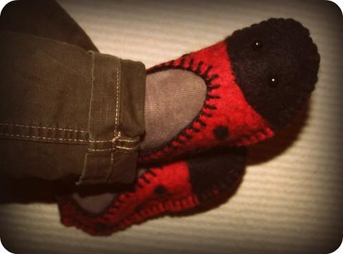 Arlin's slippers