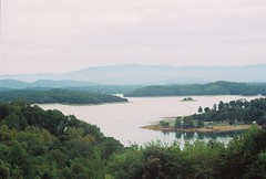 Douglas Dam Lake (foxysparrow) Tags: lake tn tennessee overlook seviercounty douglasdam