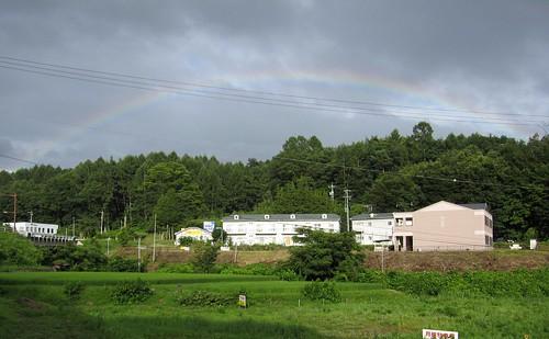 茅野市豊平から見た虹 2009年8月2日午後5時頃 by Poran111