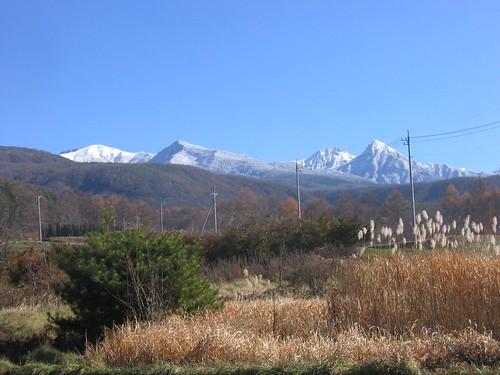 里から見た八ヶ岳連峰 2008.11.22 by Poran111