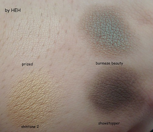 burmese beauty swatch