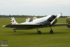 G-CBPM - 812101 - Aerostars Team - Yakovlev Yak-50 - Duxford - 100905 - Steven Gray - IMG_6082