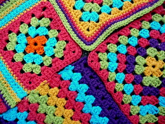 granny's (Lindevrouwsweb) Tags: crochet grannysquare haken vierkantjes
