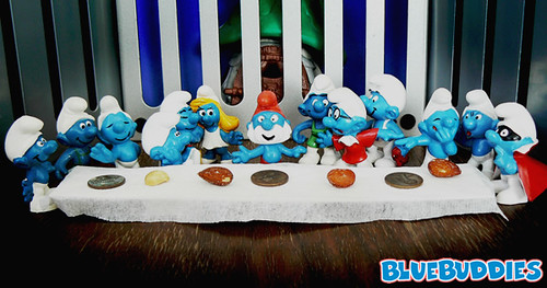 The Smurf Supper (BlueBuddies Logo Drop)