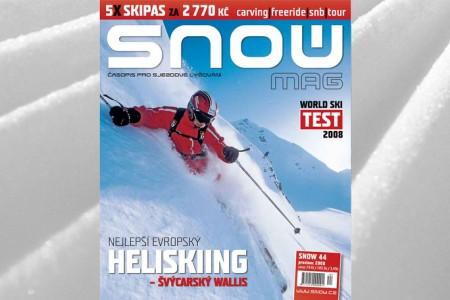 SNOW 44 + DIÁŘ 2009 + 5X SKIPAS ZDARMA + DVD BEZPEČNÉ HORY + WORLD SKI TEST