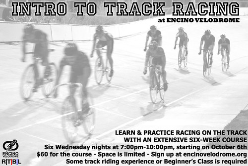 Intro To Track Racing - Oct 6th