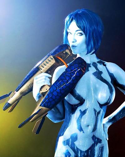 cosplay Hot cortana