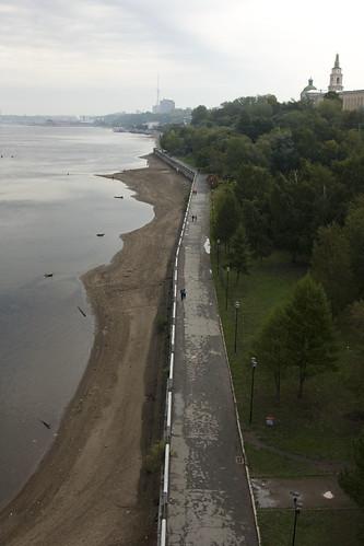 набережная реки Кама г. Пермь ©  semeonka