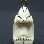"""<b>Billiken</b><br/> Unknown, Eskimo American (ivory, ca. 1970) LFAC#2008:01:06<a href=""""http://farm5.static.flickr.com/4124/4996993042_4a4eb2619a_o.jpg"""" title=""""High res"""">∝</a>"""