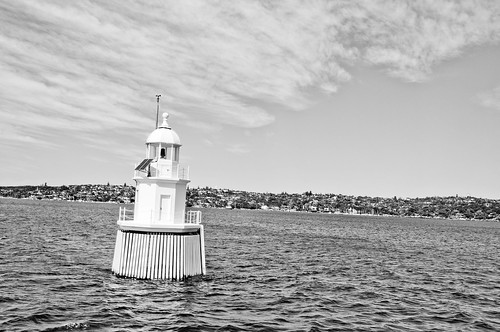 Sydney Harbour lighthouse