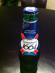 Kronenbourg 1664 Bottle Alternate Angle