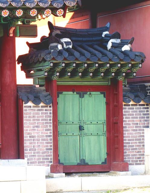 Korea Trip - green door palace