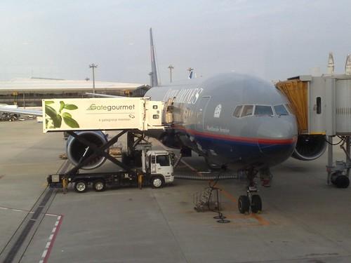 UA803 to Singapore