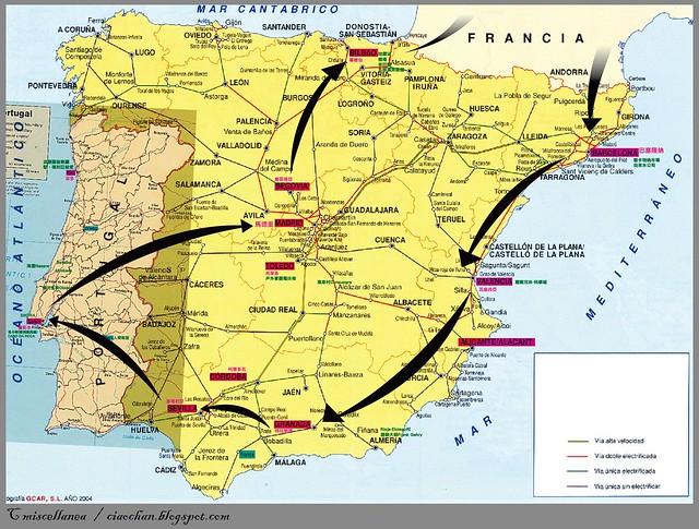 Eat, See, Love → 2010 法國、西班牙、葡萄牙 自助旅行行前規劃 map 2-03