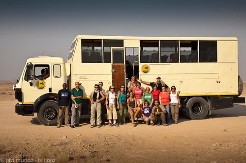 Los que estuvimos en el Okavango