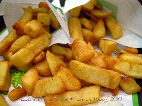 Belgian Fries - Maoz, Soho