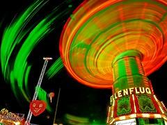 funfair ghosts (werner boehm *) Tags: germany munich münchen bayern bavaria oktoberfest funfair octoberfest kettenkarussel wernerboehm