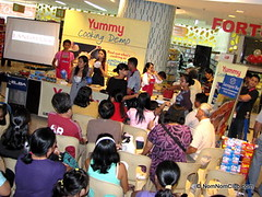 Cooking Demo at Landmark Trinoma