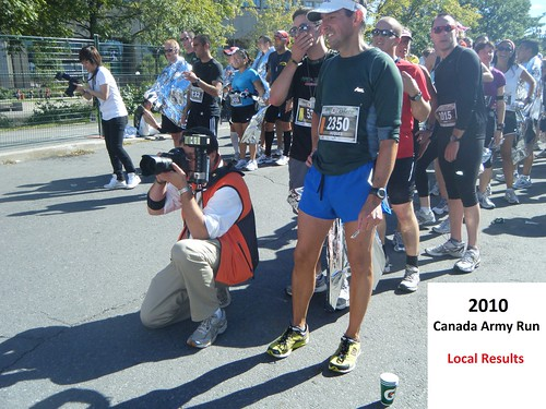 Canada Army Run 2010: local results and photos (part A)