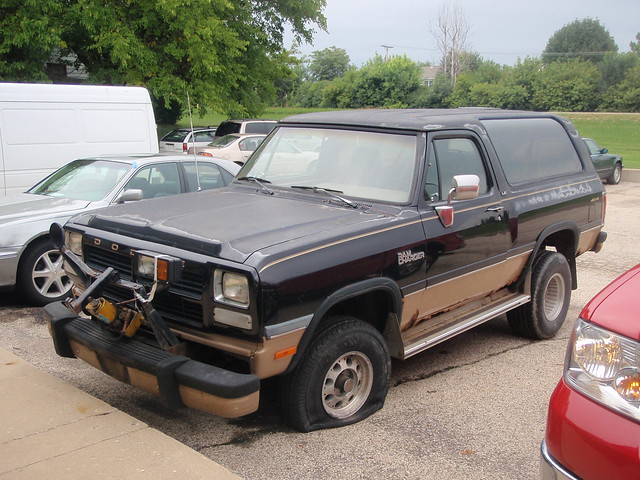 sport canyon dodge 1992 ramcharger