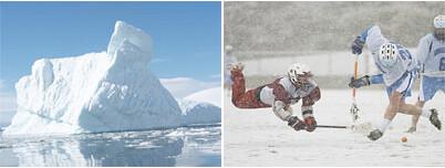 curling, icebergs... de todo