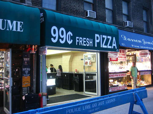 99¢ Fresh Pizza on Lex