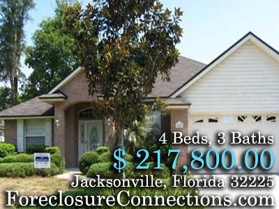 Jacksonville Foreclosures Florida, 4Bd, 3Ba, $ 217,800.00 : ForeclosureConnections.com by ForeclosureConnections
