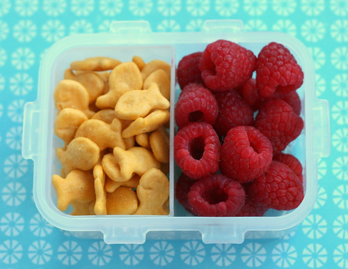 fishies and raspberries