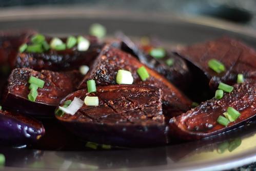 Fried Eggplant from Portuguese Restaurant, Melaka Malaysia