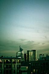 Un bout de Défense (A......M......A) Tags: light sunset paris building canon de la soleil coucher business un lumiere 7d immeuble défense bout garenne colombes