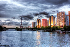 The Otherside of Eiffel (Tallapragada) Tags: sunset paris eiffel krishlikesit