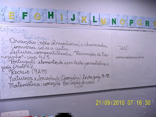 Rotina Prevista - 21/09/2010