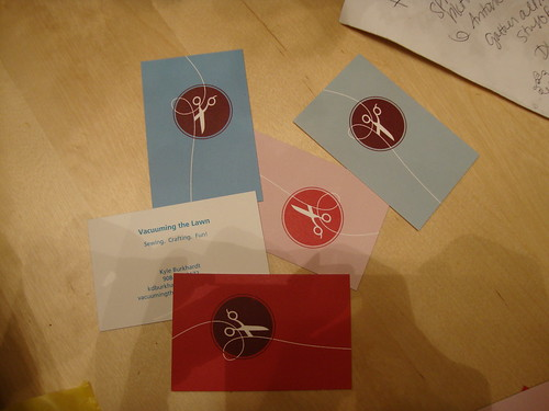 my sewing calling cards from moo.com