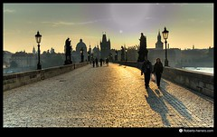 King Charles IV Bridge. Prague. Czech Republic (RobertoHerrero) Tags: bridge nikon czech prague charles d200 tokina124 touraroundtheworld bestcapturesaoi doublyniceshot tripleniceshot elitegalleryaoi mygearandme mygearandmepremium mygearandmebronze mygearandmesilver mygearandmegold dblringexcellence tplringexcellence bestofblinkwinners aboveandbeyondlevel1 flickrstruereflection1 flickrstruereflection2 flickrstruereflection3 flickrstruereflection4 flickrstruereflection5 flickrstruereflectionlevel5 aboveandbeyondlevel3 rememberthatmomentlevel4 rememberthatmomentlevel1 rememberthatmomentlevel2 rememberthatmomentlevel3