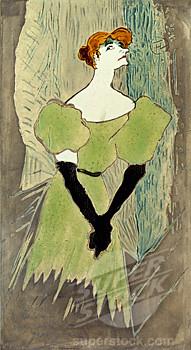 Lautrec, Yvette Guilbert