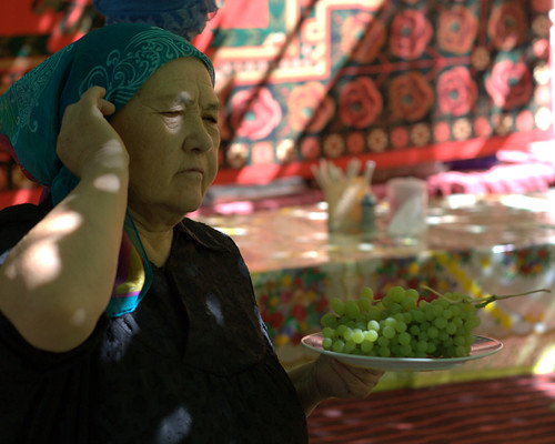 Turpan Grape Woman