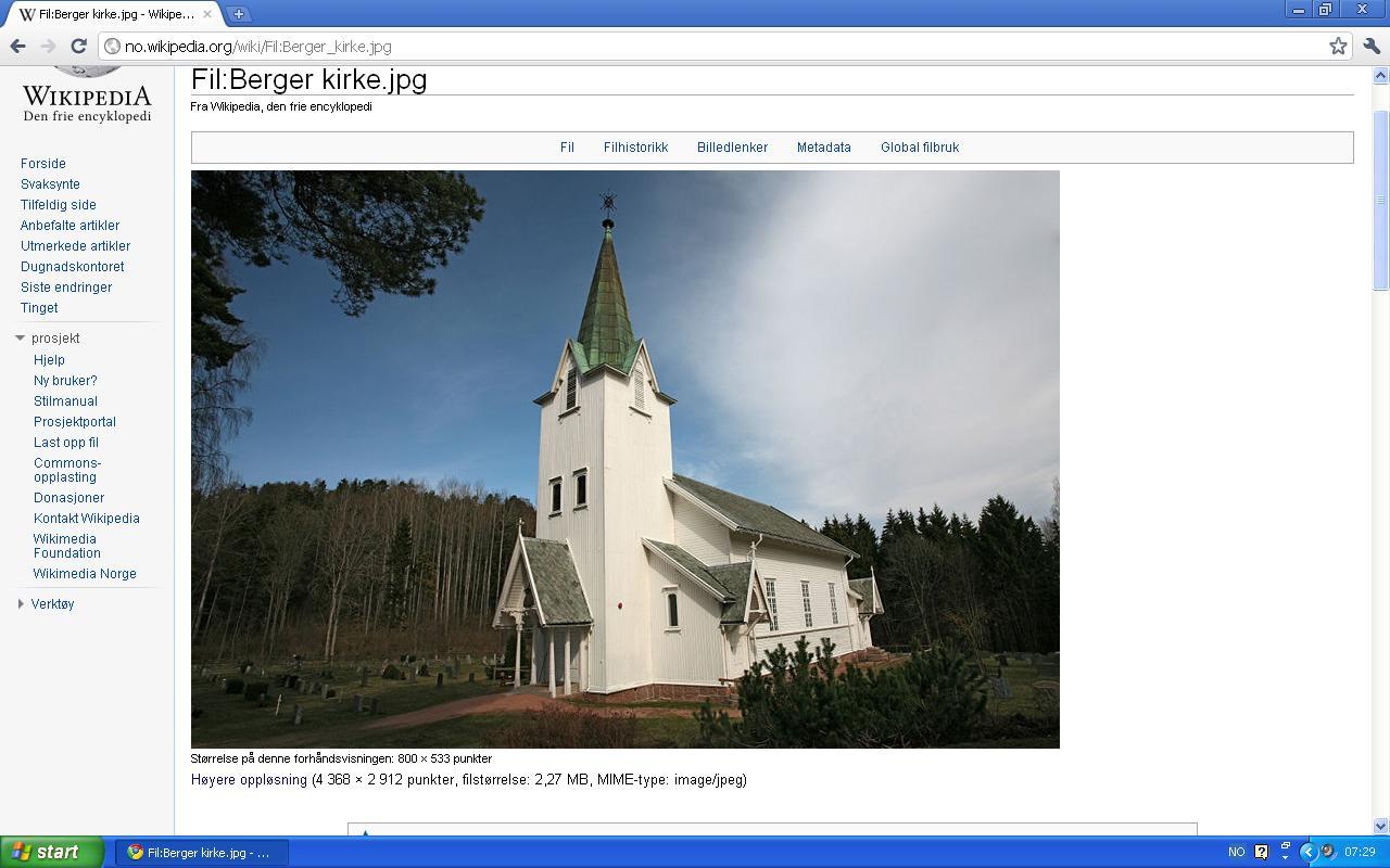 berger kirke konfirmert