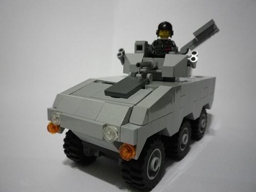 [巴提斯軍工] 狼式二型輕型裝甲車系